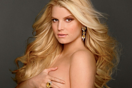 Pregnant pop star Jessica Simpson has revealed her nude pose on the cover of ...