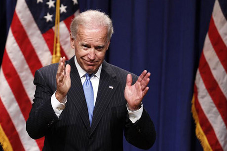 Joe Biden 'absolutely comfortable' with equal rights for married gay couples