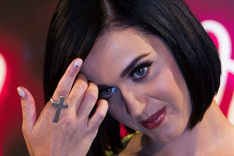 Katy Perry flashes butt after bikini slip