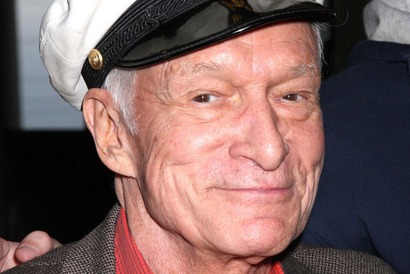 Playboy boss Hugh Hefner has shown his support for gay marriage in the US by ...