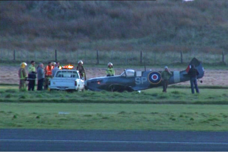 Plane Emergency Landing on Emergency Landing At Whanganui Airport   Story   Nz News   3 News